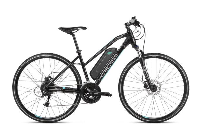Kross Evado Hybrid 1.0 sähköpyörä on tyylikäs ja tehokas, sporttisesti varusteltu pyörä monipuoliseen ajamiseen!