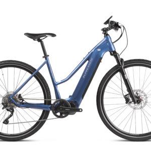 Kross Evado Hybrid 6.0 sähköpyörä on tyylikäs ja tehokas, täysin varusteltu sporttinen pyörä monipuoliseen ajamiseen.